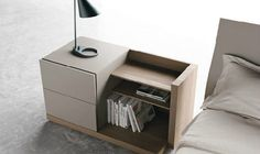 Bedside table / contemporary / wood / residential FILBOOK CACCARO