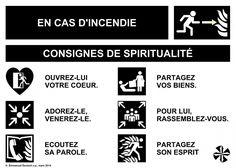 Consignes de spiritualité Infographic