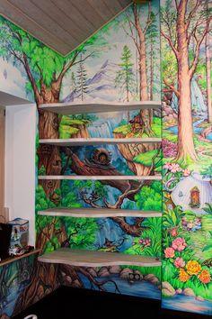 #интерьер #детская #росписьстен #росписьдетской #комната #рисунокнастене #улитка #сказка #детство #москва #interiordesign #wallart #walldecor #kidsroom #livingroom #art #художник