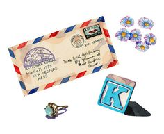 Behind a letter by Laura Manfre, via Flickr