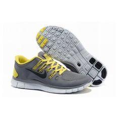 Nye Ankomst Nike Free 5.0+ Grå Gul Herre Sko Skobutik | Nyeste Nike Free 5.0+ Skobutik | Populær Nike Free Skobutik | denmarksko.com