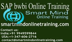 sap bi online training give you complete freedom to learn anytime from anywhere. The only requirements for taking an online course are a computer and Internet access http://smartmindonlinetraining.com/sap-bw-bi-online-training/