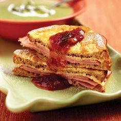 Monte Cristo Sandwiches | MyRecipes.com