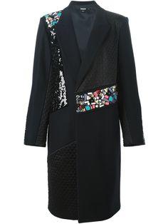 Dkny Embellished Coat - Tiziana Fausti - Farfetch.com