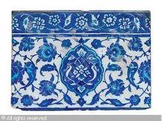 IZNIK CERAMIC, 16 > (Turkey)  Title : TILE  Date : ca 1530  TILE sold by Christie's, London, on Thursday, April 26, 2012