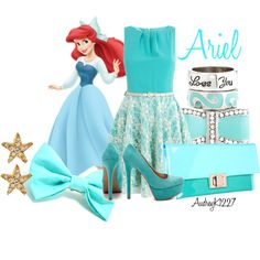 """Ariel"" by audreyk1227 on Polyvore"