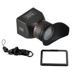 GGS Perfect Foldable LCD Viewfinder 3X Magnification for Canon, Nikon, Sony and Other DSLR Cameras by CowboyStudio (ggs3.0x LCDVF)  See Canon screen like a video camera and it is the only reasonably priced unit with diopter adjustment.