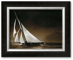"Cast off! This framed art print is perfect for the sailing enthusiast in your life. Shop our full selection of framed wall art at Kohls.com. <ul> <li>High-quality print produces vibrant colors.</li> <li>Hand-crafted frame from the finest grade of wood exudes elegance.</li> <li>Details:</li> <li>Name: ""Sailing Yacht Mohawk at Sea, c.1895""</li> <li>11.125""H x 13.25""W</li> <li>Horizontal"