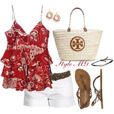 Summer style. #womens fashion. #summer fashion