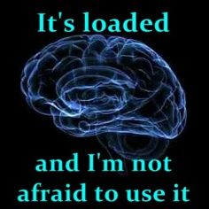 it's loaded #INTJ #brain