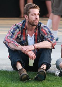 Scott Speedman At The Coachella Music Festival