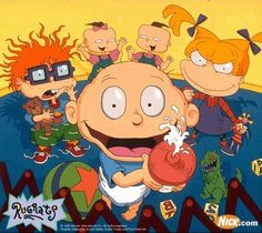 Rugrats. This was my absolute favorite show as a kid.. and honestly could still be. I will have to get the seasons and let Tommy teach Addison all his tricks.