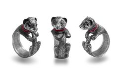 Hey, I found this really awesome Etsy listing at https://www.etsy.com/listing/452746464/ferret-jewelry-ferret-ring-sterling
