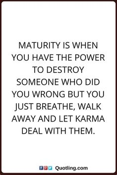 #TRUTH  Thank GOD i believe in KARMA.