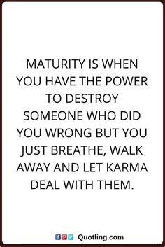 #TRUTH Thank GOD i believe in KARMA.