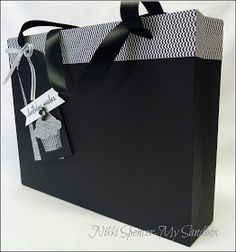 My Sandbox: Gift Bag Punch Board!