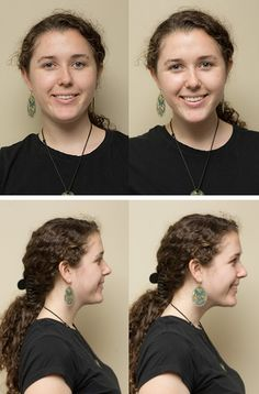 """""""Tortoise Method"""" to make chin point forward and get a great jaw line."""