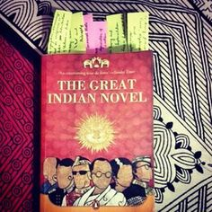 The Great Indian Novel by Shashi Tharoor. | 34 Books By Indian Authors That Everyone Should Read
