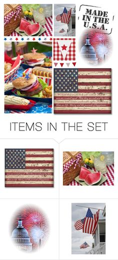 """""""Celebrate Life, Liberty and the pursuit of Happiness !!"""" by kateo ❤ liked on Polyvore featuring art and 6725"""