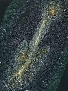 Hideharu Mishio. A swallow. wood engraving, pastel