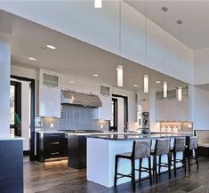 Fabulous Ideas For Your Next Home Improvement Project for Kitchen Lighting Making changes to your home can seem like a lot to undertake, as well as, a lot to bother yourself with. Kitchen Lighting Fixtures, Kitchen Design, Art Glass Lighting, Kitchen Island Lighting Modern, Kitchen Island Design, Kitchen Island Decor, Home Decor, Modern Kitchen Island, Glass Lighting