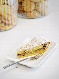 Crostata cocco e banane #glutenfree