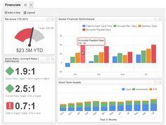 Executive Dashboard Examples | Financial Performance