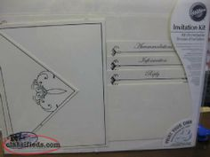 $15 for 50 print your own Wedding invitations