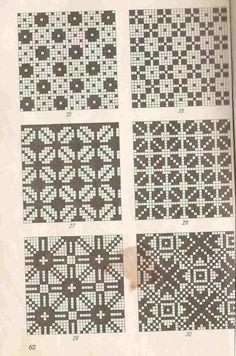 Estonian patterns - That's It Fair Isle Knitting Patterns, Knitting Charts, Knitting Stitches, Knitting Designs, Knitting Projects, Knit Patterns, Cross Stitch Patterns, Filet Crochet, Tapestry Crochet