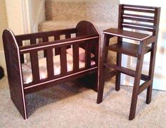 DIY Doll furniture free plans from Ana White