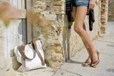 Lilimill wedge and bag Madewell, Ss, Wedges, Tote Bag, Casual, Fashion, Moda, Fashion Styles, Tote Bags