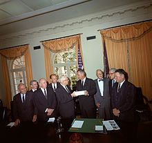 The President's Commission on the Assassination of President Kennedy, known unofficially as the Warren Commission, was established by President Lyndon B. Johnson on November 29, 1963 to investigate the assassination of United States President John F. Kennedy that had taken place on November 22, 1963