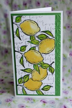 Lotsa Lemons by othermother - Cards and Paper Crafts at Splitcoaststampers