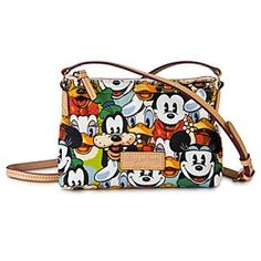 Must. Have. ..... Disney StoreMickey Mouse and Friends Faces Crossbody Pouchette by Dooney & Bourke