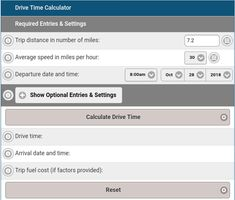 15 Best Drive Time Calculator images in 2018 | Mobile app