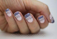 Inspiration automnaleUn joli dégradé de couleurs qui valorise les ongles longs…