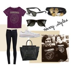 Harry Styles inspired outfit!!! Omg wish I had the shirt