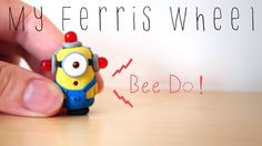 How to make a miniature fire alarm minion out of polymer clay (Despicable Me 2) (Bee Do)