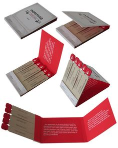 Matchbook | With the matchstick concept in this company's na… | Flickr