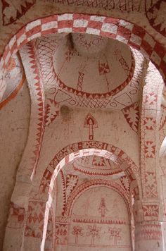 Turquie - Cappadoce : fresques iconoclastes - LANKAART