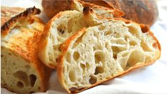 Open Crumb Rustic Bread Recipe with Biga :The Best Homemade Artisan Bread Recipe Bread Head, Bread Bun, Crusty White Bread Recipe, Fermented Bread, Yeast Starter, Artisan Bread Recipes, Rustic Bread, Oven Dishes, How To Make Bread