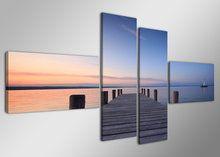 Schilderij-Eindeloos-4-delig-(160x70cm)