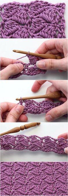 Crochet Side Saddle Stitch – Easy Tutorial