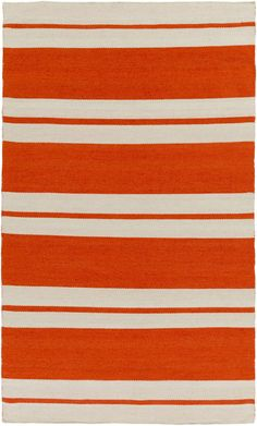 Surya NNT6000 Nantucket Orange Rectangle Area Rug