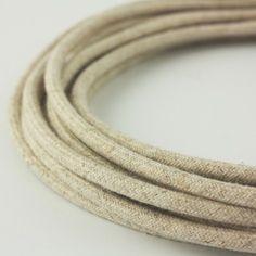 Snoerboer Rond linnen strijkijzersnoer | FLINDERS verzendt gratis