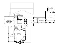 Looking for the best house plans? Check out the Islander Cottage plan from Southern Living. Beach House Floor Plans, Best House Plans, Southern Living House Plans, Bald Head Island, Sleeping Porch, Going Bald, Cottage Plan, Cottage Ideas, Lakefront Homes