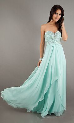 Customizable beaded top long tiff blue mint Bridesmaids dress plus size also $99.99