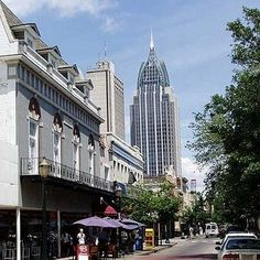 Downtown Mobile Alabama Travel Usa Multicityworldtravel We Cover The