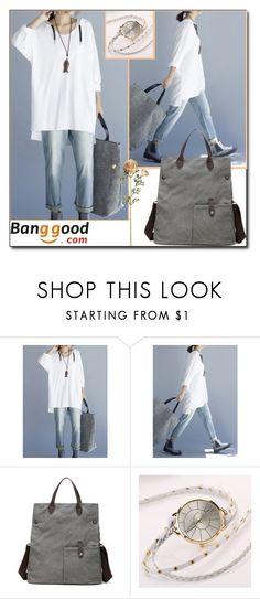 """Love This Style by Banggood 4/10"" by esma178 ❤ liked on Polyvore"