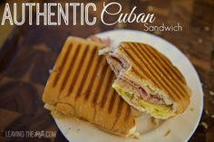 Real Cuban Sandwich Cover